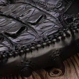 Image 5 - Da Cá Sấu Nam Đầm Da Chính Hãng Thương Hiệu Chất Lượng Cao Thiết Kế Ban Đầu DỰ TIỆC CƯỚI Sang Trọng Nam Giải Trí Giày Thường
