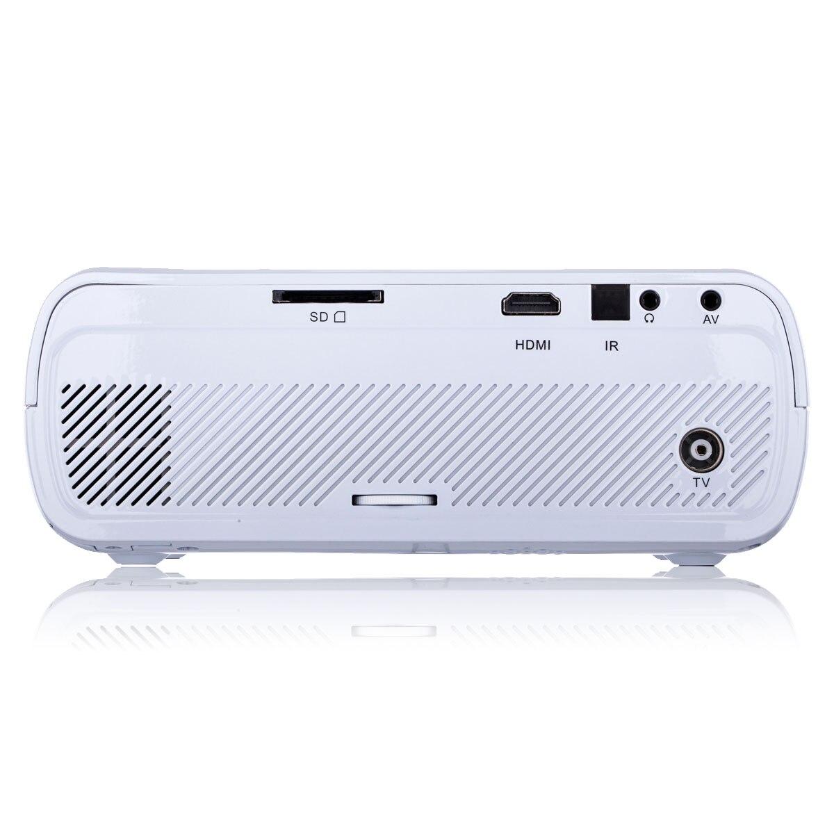 Multimedia 4K 1080P WiFi Android Bluetooth 3D HA CONDOTTO il Proiettore Home Cinema Supporta Orizzontale e Verticale di Vibrazione di Alta Qualità - 6