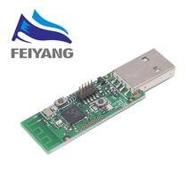 10pcs Senza Fili Zigbee CC2531 Sniffer Bare Board Pacchetto Analizzatore di Protocollo Modulo di Interfaccia USB Dongle di Acquisizione Pacchetto Modulo