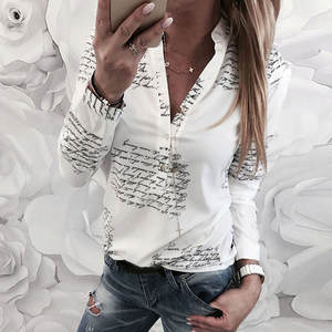 New Blouse Women Casual Striped Top Shirts Blouses Female Loose Blusas Autumn Fall Casual Ladies Office Blouses Top Sexy J26