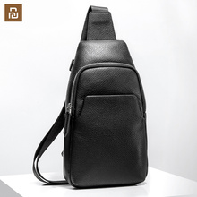 Xiaomi Petto Zaino In Pelle Mi Portatile di Modo Sacchetto Casuale 190*80*320 millimetri Pelle Scamosciata degli uomini di Viaggio sacchetti di spalla Per Gli Uomini