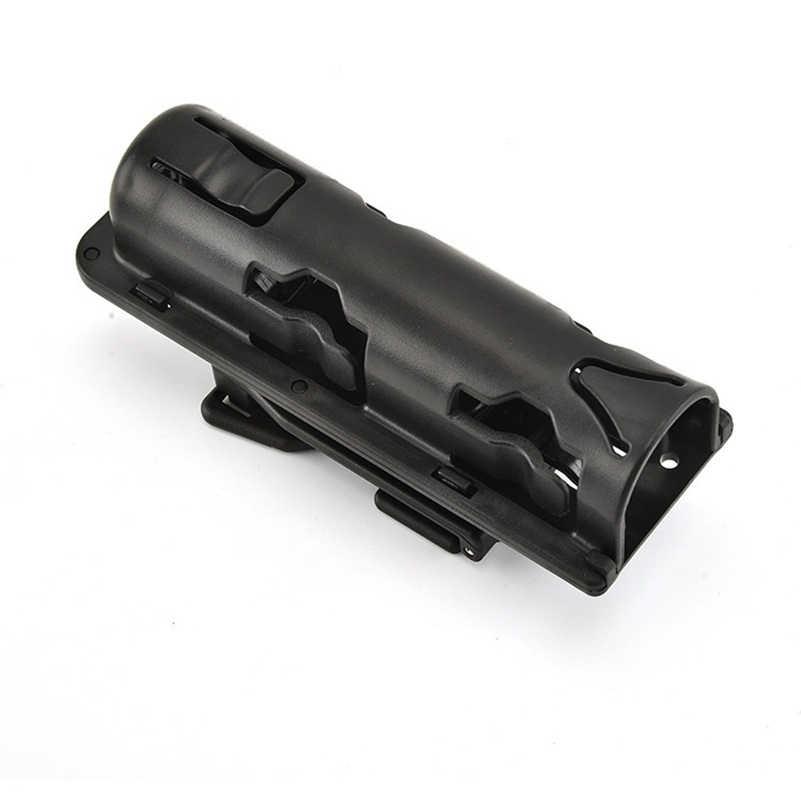 ใหม่ Universal 360 องศาหมุน Baton Case HOLSTER สีดำผู้ถือ Self Defense ความปลอดภัยกลางแจ้ง Survial Kit EDC เครื่องมือ