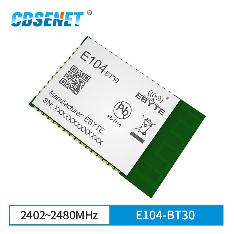 Ebyte E104-BT30 аудио Bluetooth модуль CSRA64215 BLE V4.2 EDR PCB CSR 9dBm 4M Flash SMD приемник