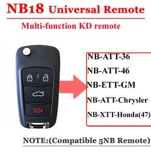 Image 1 - משלוח חינם (5 יח\חבילה) NB18 אוניברסלי רב תפקודי kd מרחוק 3 כפתור NB סדרת מפתח עבור KD900 URG200 מרחוק מאסטר