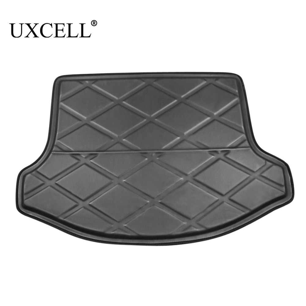 Uxcell Pe Eva Foam Plastic Black Rear Car Trunk Boot Liner Cargo Mat Floor Tray Carpet Cover For Kia Sportage R K3 2011 To 2018