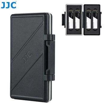 JJC 4 Slots M.2 2280 SSD Storage Case Box Protector Holder for PC Desktop Laptop M.2 2280 Internal Solid State Drive