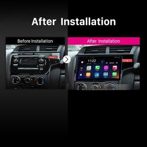 Image 5 - Seicane GPS Autoradio HD Touchscreen Car Radio Audio Android 10.0 for 2014 2015 HONDA JAZZ/FIT (RHD) support Carplay DAB+