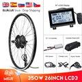 MXUS E велосипед комплект заднее колесо мотор передний 36 в 48 в 350 Вт комплект для переоборудования электрического велосипеда концентратор бес...