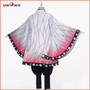 Image 3 - Uwowo Demon Slayer: Kimetsu no Yaiba Shinobu Kocho Cosplay Costume Demon Slaying Corps Uniform Man costume