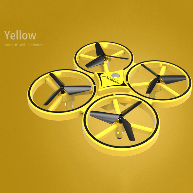 induction helicopter for kids colorful yellow drone