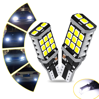 2X ed T15 W16W NO Error 921 912 21SMD 2835 Car Backup Reserve Lights Bulb for BMW e46 e90 e60 e36 x5 e53 e70 f30 e61 e39 6000k image
