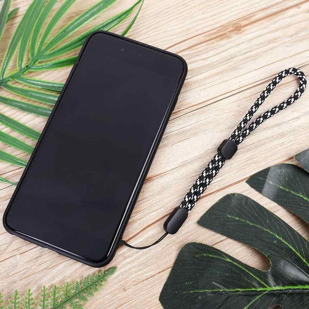 1PC Adjustable Tali Pergelangan Tangan Ponsel Pintar Tali Tangan Lanyard Gantungan Kunci untuk Ponsel Kunci U Disk USB Walkie-Talkie Aksesoris Kamera