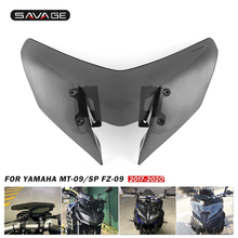 Motosiklet YAMAHA MT 09/SP FZ 09 2017 2018 2019 2020 cam yedek brise rüzgar deflector MT09 FZ09 MT FZ 09