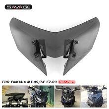 Szyba przednia motocykla do YAMAHA MT 09/SP FZ 09 2017 2018 2019 2020 deflektory wiatru pare brise MT09 FZ09 MT FZ 09