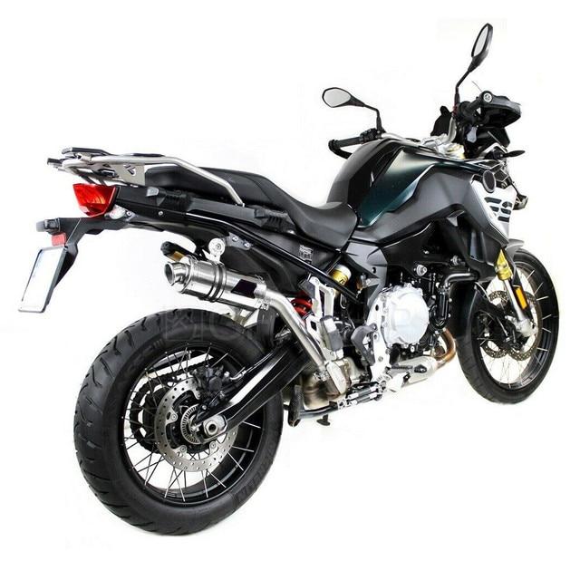 Voor Bmw F750GS F850GS 2018 2019 2020 F850GS/Adv 18 19 20 F 850 Gs Escape Slip-On motorfiets Uitlaat Mid Link Pijp 51Mm