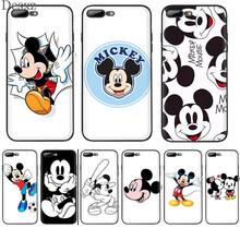 Mickey mouse orelhas caso de telefone para iphone 8 7 6 s plus iphone 11 pro x xs xr max 5 5S secover(China)