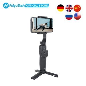 Image 1 - FeiyuTech الرسمية VLOG جيب 2 البسيطة المحمولة الهاتف الذكي Gimbal استقرار selfie عصا ل فون 11 XS XR 8 7 ، هواوي P30 برو
