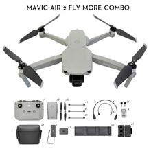 DJI-Dron Mavic Air 2 /Mavic Air 2 fly more combo con cámara 4k, 34-min, tiempo de vuelo, transmisión de vídeo, 10km, 1080p
