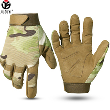 Multicam Tactical Gloves Antiskid Army Military Bicycle Airsoft Motorcycle Shoot Paintball Work Gear Camo Full Finger Men Women