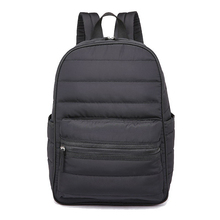 Backpack women space down cotton travel backpack school bags for girls teenagers