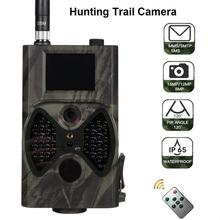 HC-300M 12MP 940nm Night Vision Hunting Camera MMS Camera Trap Trail Camera MMS GSM GPRS 2G Photo Traps Wild Cameras 40M ltl acorn 6310wmg 940nm hunting camera mms gprs photo traps wild gsm camera traps 12mp hd ir trail waterproof scouting camcorder