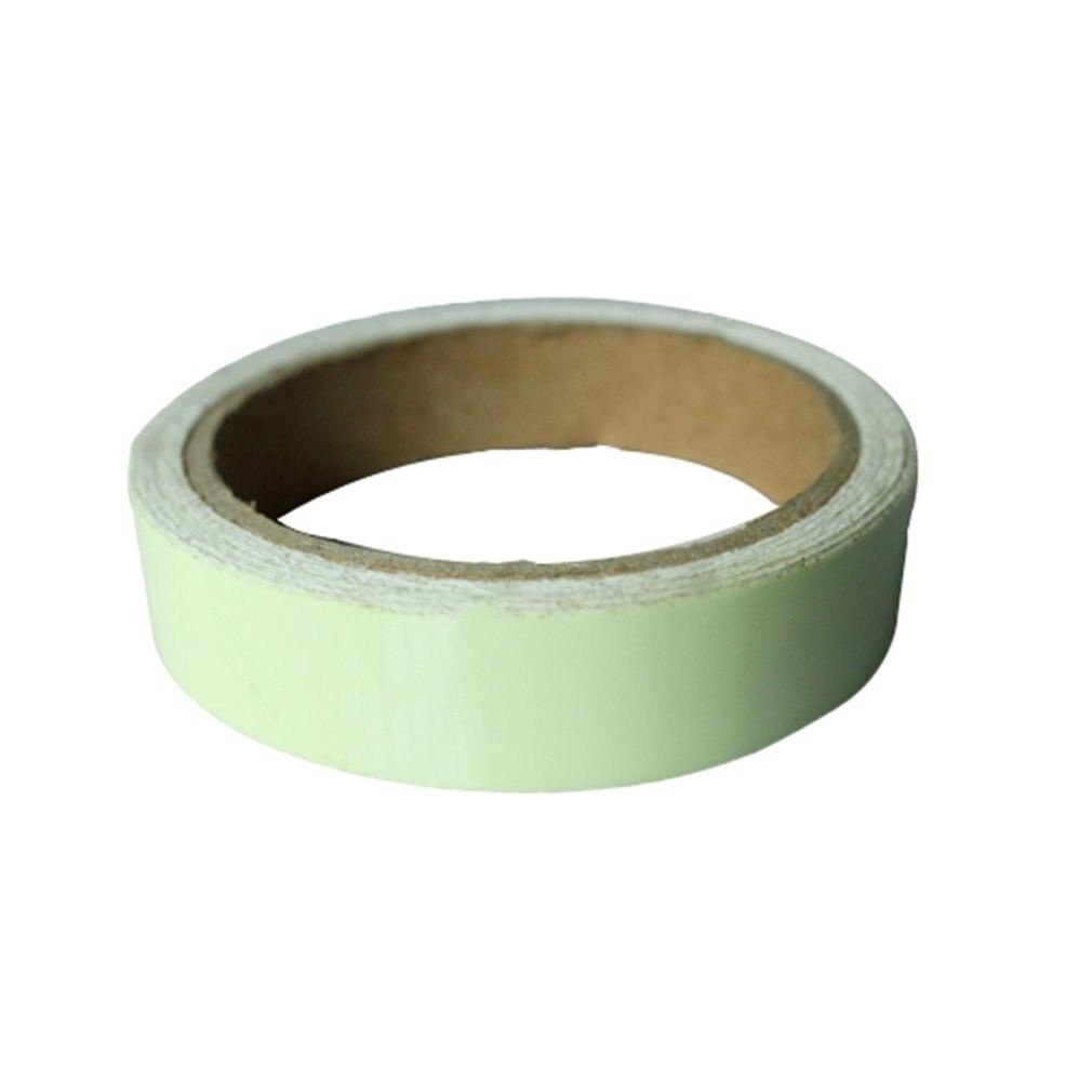 Reflective Glow Tape Self-adhesive Sticker Removable Luminous Tape Fluorescent Glowing Dark Striking Warning Tape Dropshipping..