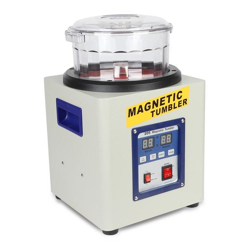 Manufacturer!!! KD/KT-205 Magnetic Tumbler Jewelry Polisher Finisher Finishing Machine, Magnetic Polishing Machine AC 110V/220V