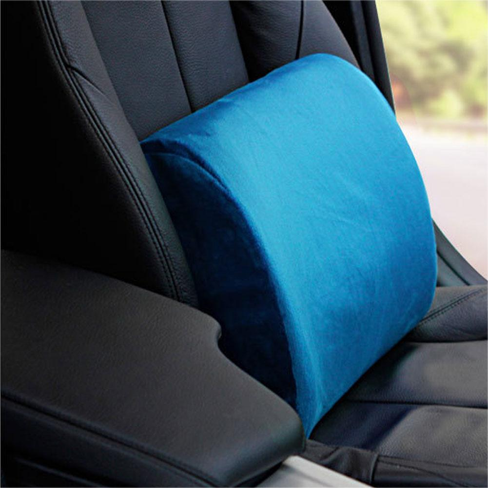 Universal Solid Color Auto Car Vehicle Back Seat Mount Pillow Soft Cushion Decor Auto Seat Supports automotive seat covers|Seat Supports| |  - title=
