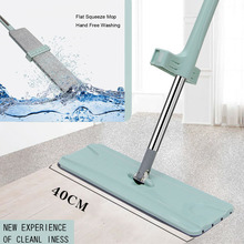 flat mop high quality aluminum alloy mop floor mop cleaning tool stainless steel rod Flat Mop Disposable Rotary Mop Stainless Steel Handle Home House Office Cleaning Tool Microfiber Mat Kitchen Floor Cleaning Mop
