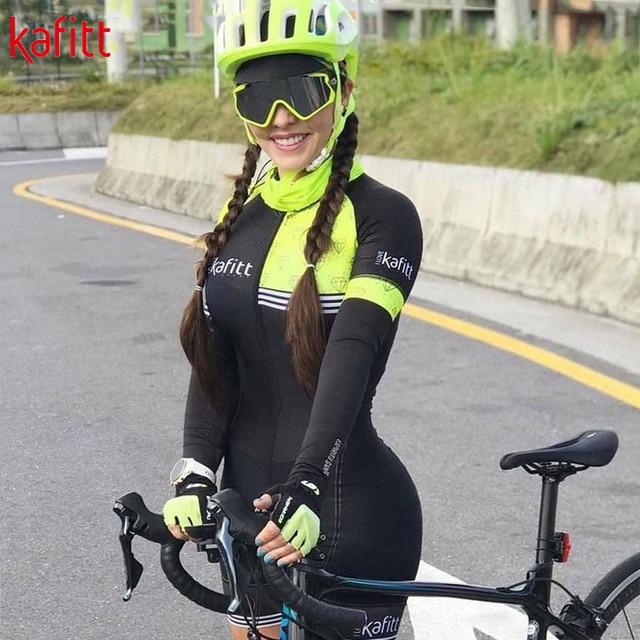 2020 pro equipe triathlon manga longa camisa de ciclismo terno senhoras jérsei macacão bicicleta almofada gel 5