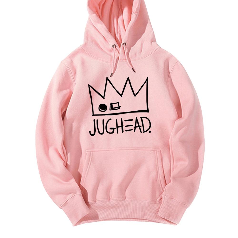 Jughead Jones Crown South Side Serpents Riverdale Girl Woman Hoodie Autumn Winter Fleece Couple Clothes ZIIART 9