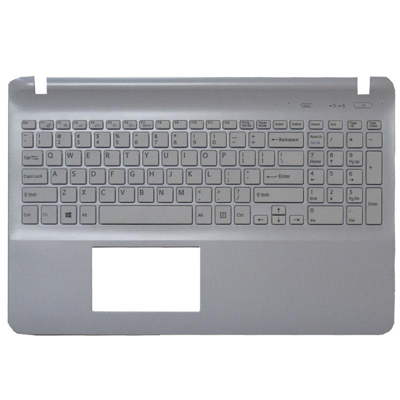 NEW FOR SONY FIT 15E SVF 15E SVF15E Keyboard Backlit White UK Teclado