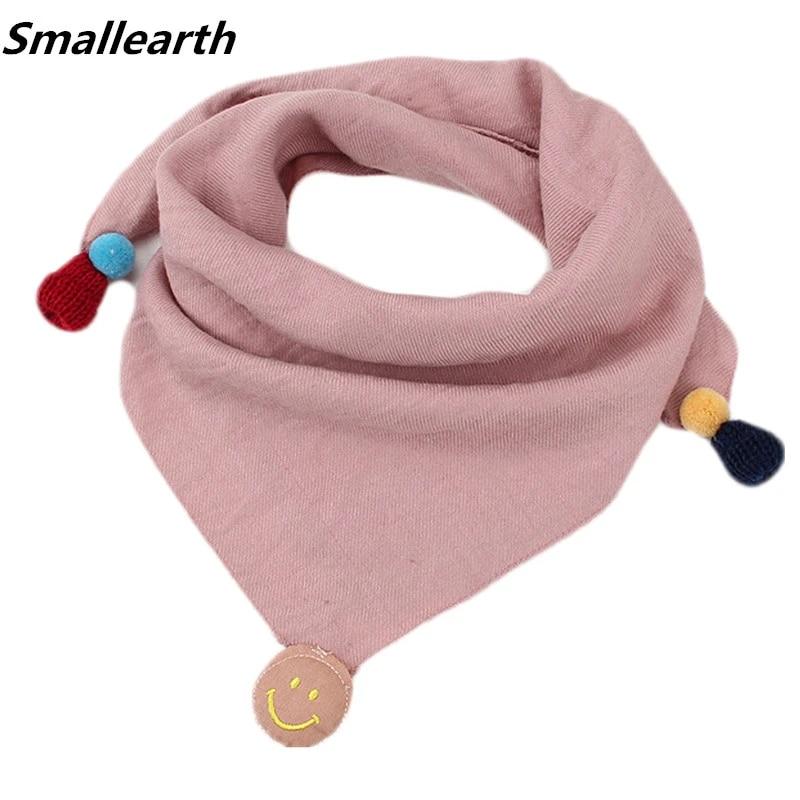 Children Triangle Scarves Autumn Winter Baby Cotton Linen Scarf Boys Girls  Pure Color Magic Neckerchief Kids Fashion Neck Scarf|linen scarf|scarf  boycotton linen scarf - AliExpress