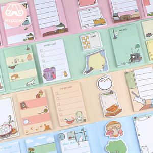 Memo-Pads Stationery Mr-Paper Pineapple Kitty Creative Office-Supply Folded Self-Adhesive
