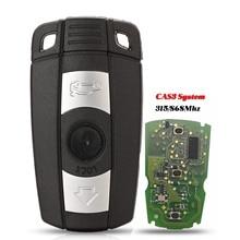 Jingyuqin 5p remoto caso chave do carro para bmw cas3 seriescas3 sistema 315mhz/868mhz fsk para x5 x6 z4 1/3/5/7 série controle chave