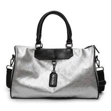 Brand  Fashion PU Leather Handbag High Quality Crossbody Big Female For Women Silver Girl Messenger Hand Ladies Bags Tote Travel цены