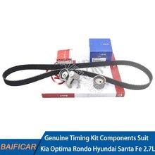 Kit de pièces de distribution, tendeur de poulie de courroie, pour Kia Optima Rondo Hyundai Santa Fe, 2,7 l, nouveau