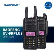 100% Original baofeng uv9r plus upgraded dual band radio waterproof walkie talkie communications amateur vhf uhf marin radio ham