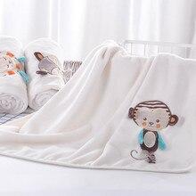 Exquisite Embroidery Baby Soft Velvet Blanket Cotton Velvet