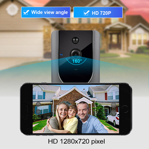 Image 4 - FUERS 720P WIFI Doorbell Camera Smart Wireless Video Intercom Camera Doorbell IP Doorbell Camera Two Way Audio Cloud Storage