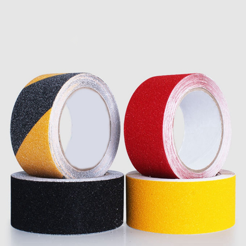 Waterproof Frosted Surface Safety Tape Self Abrasive Stripe For Stairs Anti Slip Tread Step Warning Tapes Non Skid Sticker