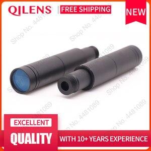 """Image 3 - QILENS 300mm güvenlik kamerası lens 1/3 """"görüntü formatı uzun görüş mesafesi M12 montaj yatay görüş açısı 1.15D manuel odaklama"""