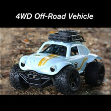 цена на 2.4G Simulation RC Car Model Four-Wheel Drive Off-Road Vehicle Electric Remote Control Car High Speed Drift Car