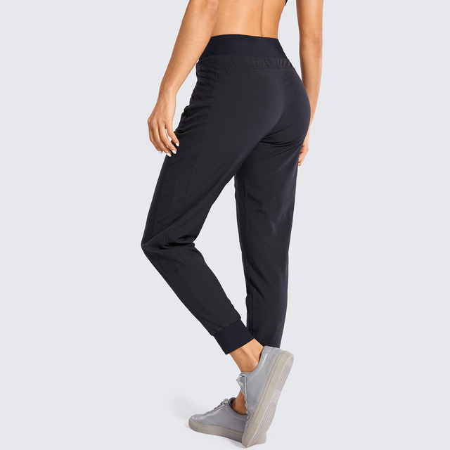 Double Layer Jogger Sweatpants with Zipper Pockets