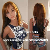 KNETSCH 135cm Real Silicone Sex Dolls Robot Japanese Full Sized Love Doll Realistic Ass Vagina Pussy Breast Sex Doll For Men