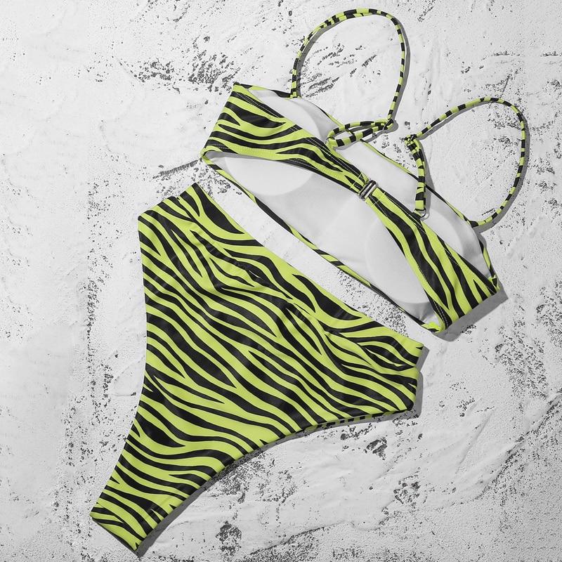 Hb014250926114b9abbe5c52c3d706493o ZTVitality Sexy Bikinis Solid Push Up Bikini 2019 Hot Sale Padded Bra Straps High Waist Swimsuit Swimwear Women Print Biquini XL