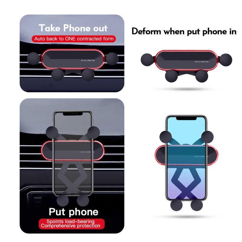 Jellico One Universal Carโทรศัพท์ผู้ถือขาตั้งGPSแรงโน้มถ่วงสำหรับโทรศัพท์ขาตั้งไม่มีแม่เหล็กสำหรับiPhone X 8สนับสนุนXiaomi