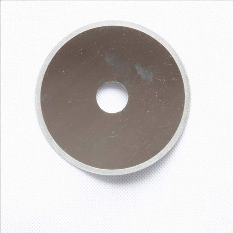Free Shipping Of 1pc High Quality 100-110mm Electroplated Diamond Thin Kerf Cutting Disc For Cutting Bowlder Agate