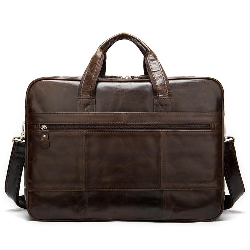 BEAU-Men's Bag Men's Leather Laptop/Briefcase Bag for Men Messenger/Office Bag Men Design Business Document Briefcase Handbag