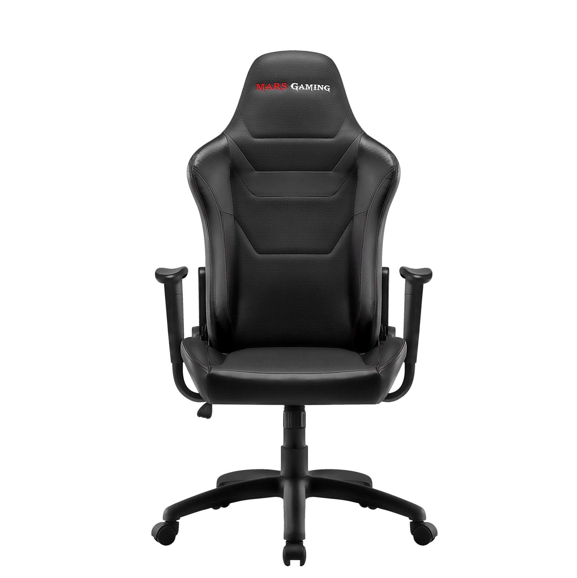Mars Gaming MGC218, Chair Gaming Proffesional, Technology AIR, Recliner 180 °, Black
